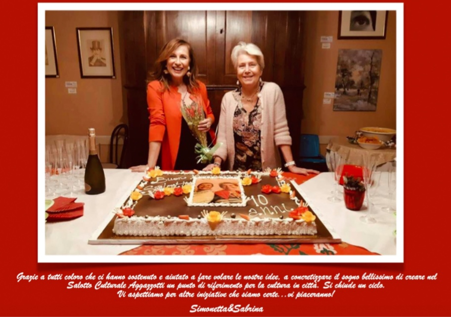 Sabrina e Simonetta ringraziano